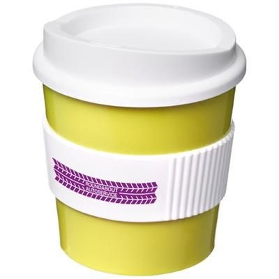 Picture of AMERICANO® PRIMO 250 ML TUMBLER with Grip in Lime-white Solid