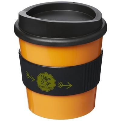 Picture of AMERICANO® PRIMO 250 ML TUMBLER with Grip in Orange-black Solid