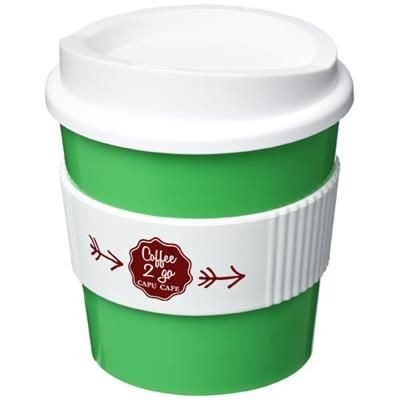 Picture of AMERICANO® PRIMO 250 ML TUMBLER with Grip in Green-white Solid