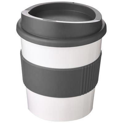 Picture of AMERICANO® PRIMO 250 ML TUMBLER with Grip in White Solid-grey