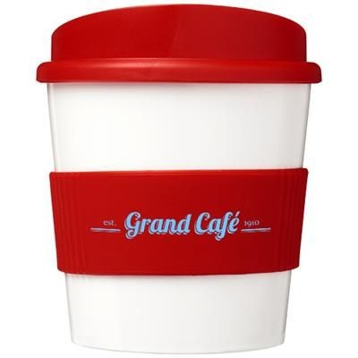 Picture of BRITE-AMERICANO® PRIMO 250 ML TUMBLER with Grip in Red