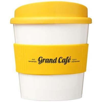Picture of BRITE-AMERICANO® PRIMO 250 ML TUMBLER with Grip in Yellow
