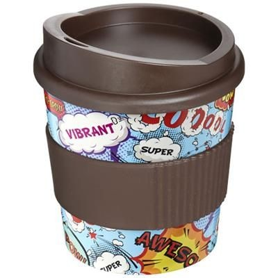 Picture of BRITE-AMERICANO® PRIMO 250 ML TUMBLER with Grip in Brown