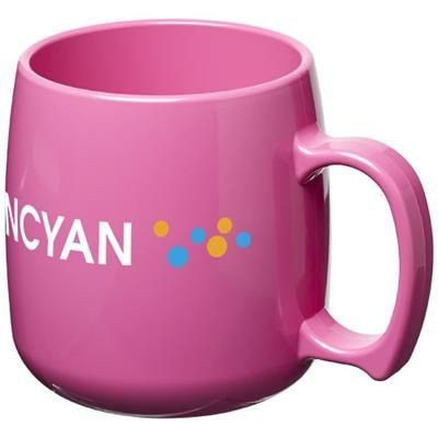 Picture of CLASSIC 300 ML PLASTIC MUG in Pink
