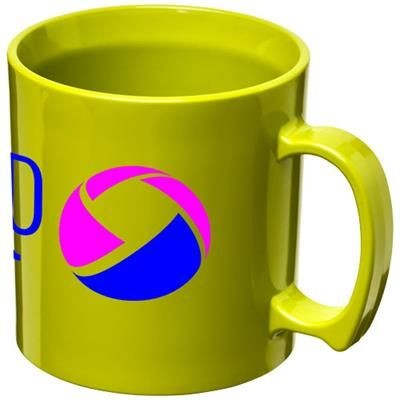 Picture of STANDARD 300 ML PLASTIC MUG in Lime