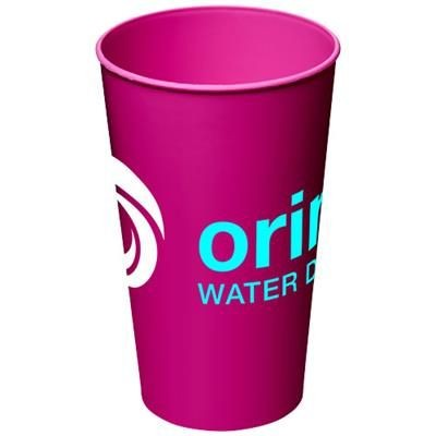 Picture of ARENA 375 ML PLASTIC TUMBLER in Magenta
