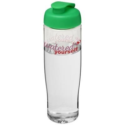 Picture of H2O TEMPO® 700 ML FLIP LID SPORTS BOTTLE in Transparent-green