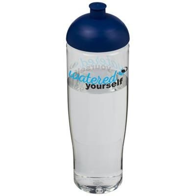 Picture of H2O TEMPO® 700 ML DOME LID SPORTS BOTTLE in Transparent-blue