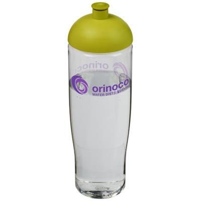 Picture of H2O TEMPO® 700 ML DOME LID SPORTS BOTTLE in Transparent-lime