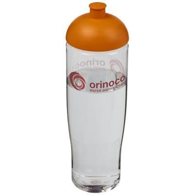 Picture of H2O TEMPO® 700 ML DOME LID SPORTS BOTTLE in Transparent-orange