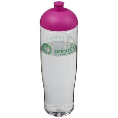 Picture of H2O TEMPO® 700 ML DOME LID SPORTS BOTTLE in Transparent-pink
