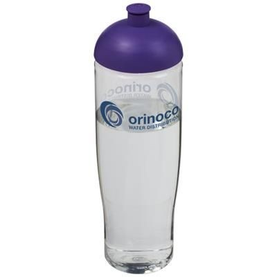 Picture of H2O TEMPO® 700 ML DOME LID SPORTS BOTTLE in Transparent-purple