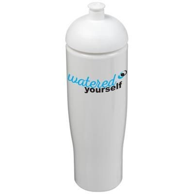Picture of H2O TEMPO® 700 ML DOME LID SPORTS BOTTLE in White Solid