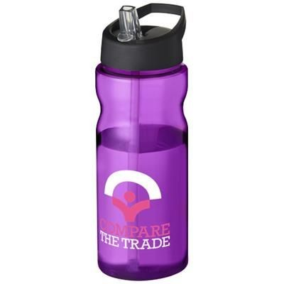 Picture of H2O BASE® 650 ML SPOUT LID SPORTS BOTTLE in Purple
