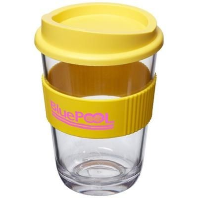 Picture of AMERICANO® CORTADO 300 ML TUMBLER with Grip in Yellow