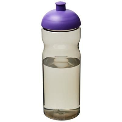 Picture of H2O ECO 650 ML DOME LID SPORTS BOTTLE in Heather Charcoal-purple