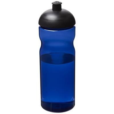 Picture of H2O ECO 650 ML DOME LID SPORTS BOTTLE in Blue-black Solid