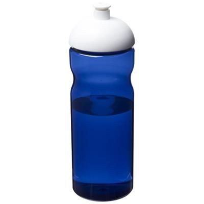 Picture of H2O ECO 650 ML DOME LID SPORTS BOTTLE in Blue-white Solid