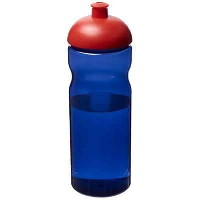 Picture of H2O ECO 650 ML DOME LID SPORTS BOTTLE in Royal Blue-red