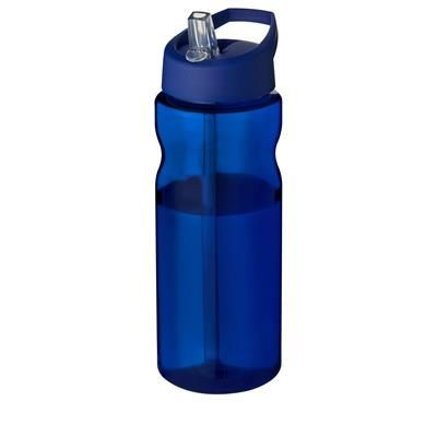 Picture of H2O ECO 650 ML SPOUT LID SPORTS BOTTLE in Blue