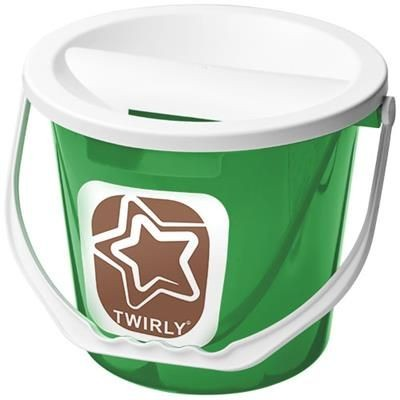 Picture of UDAR CHARITY COLLECTION BUCKET in Green