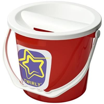Picture of UDAR CHARITY COLLECTION BUCKET in Red