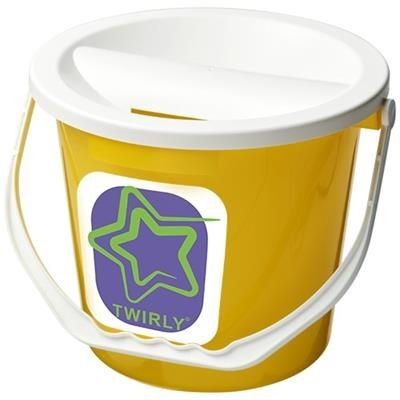 Picture of UDAR CHARITY COLLECTION BUCKET in Yellow