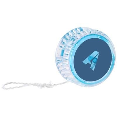 Picture of FREYA FLASHING YO-YO in Transparent-blue