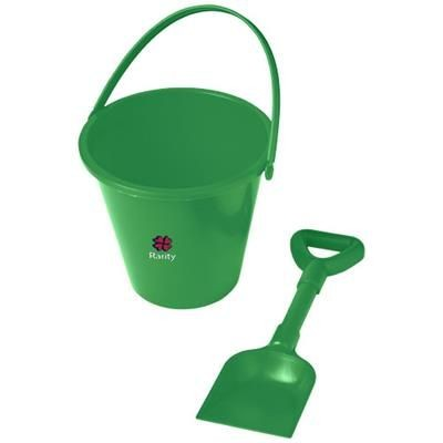 Picture of FINN BEACH BUCKET AND SPADE in Green