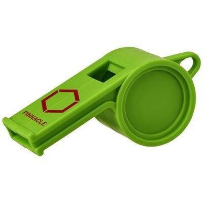 Picture of HOOT TRADITIONAL REFEREE WHISTLE in Green