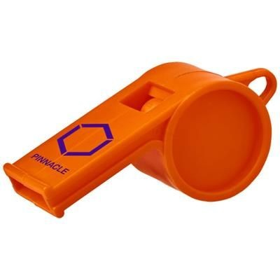 Picture of HOOT TRADITIONAL REFEREE WHISTLE in Orange