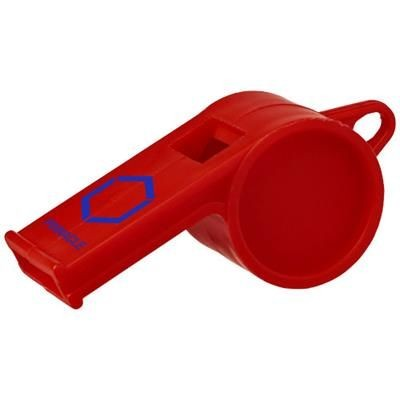 Picture of HOOT TRADITIONAL REFEREE WHISTLE in Red