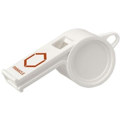 Picture of HOOT TRADITIONAL REFEREE WHISTLE in White Solid