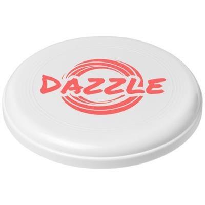 Picture of CRUZ MEDIUM PLASTIC FRISBEE in White Solid