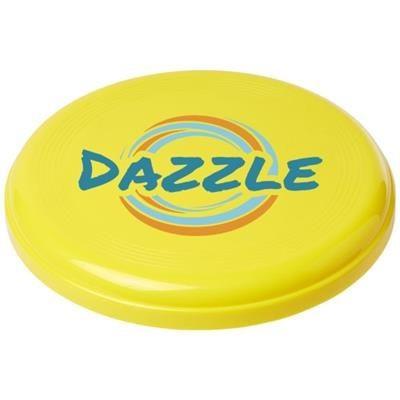 Picture of CRUZ MEDIUM PLASTIC FRISBEE in Yellow