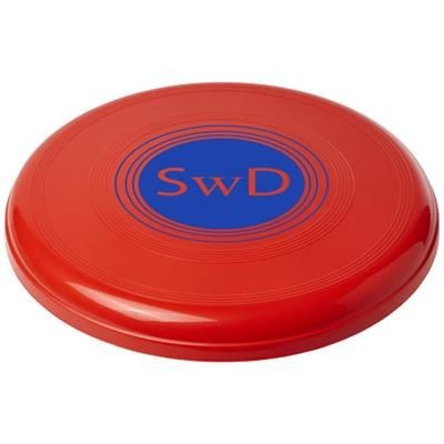 Picture of CRUZ LARGE PLASTIC FRISBEE in Red