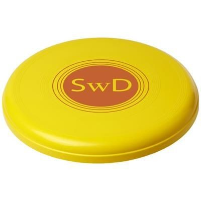 Picture of CRUZ LARGE PLASTIC FRISBEE in Yellow
