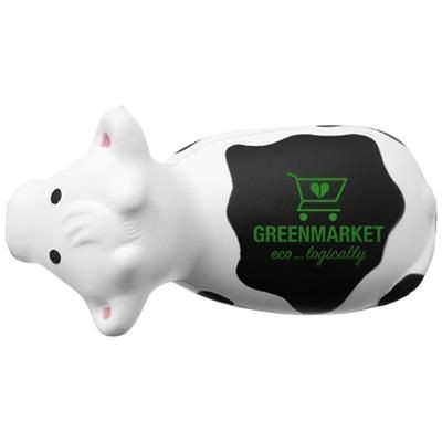 Picture of ATTIS COW STRESS RELIEVER in White Solid-black Solid