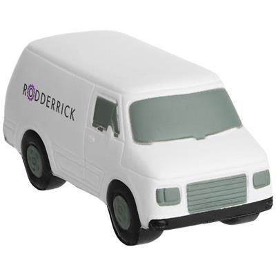 Picture of TAMAR TRANSIT VAN STRESS RELIEVER in White Solid