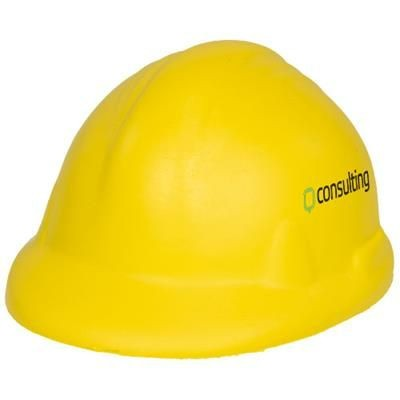 Picture of SARA HARD HAT STRESS RELIEVER in Yellow