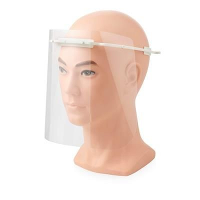 Picture of PROTECTIVE VISOR - MEDIUM in White Solid