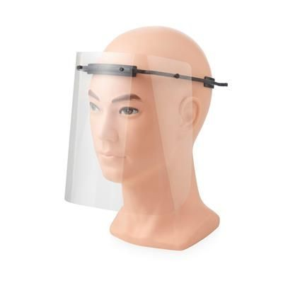 Picture of PROTECTIVE VISOR - MEDIUM in Black Solid