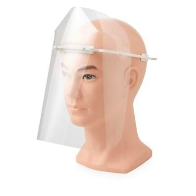 Picture of PROTECTIVE VISOR - LARGE in White Solid