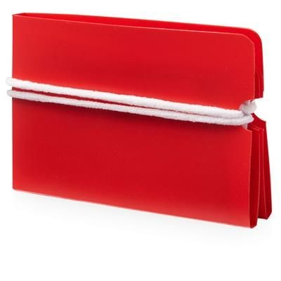 Picture of MADDEN FOLD-UP MASK WALLET in Red