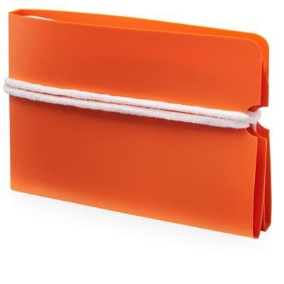 Picture of MADDEN FOLD-UP MASK WALLET in Orange