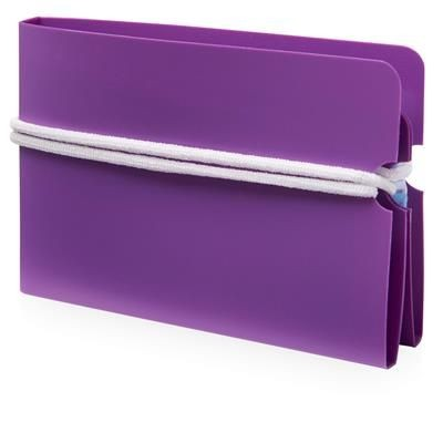 Picture of MADDEN FOLD-UP MASK WALLET in Purple
