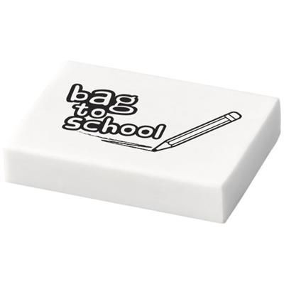 Picture of ADAL STANDARD ERASER in White Solid
