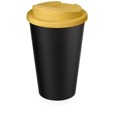 Picture of AMERICANO ECO SPILL PROOF in Yellow & Black Solid