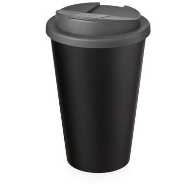 Picture of AMERICANO ECO SPILL PROOF in Grey & Black Solid