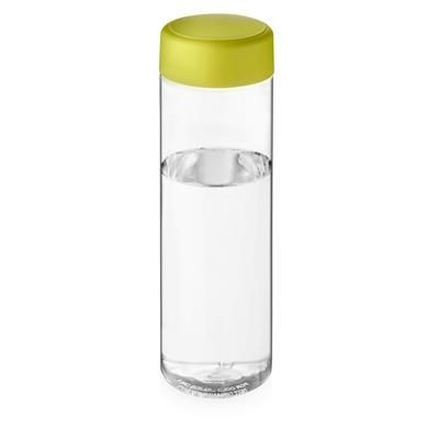 Picture of VIBE SCREW CAP BOTTLE in Transparent & Lime